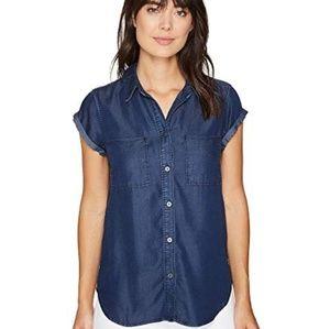 Paige chambray button down shirt